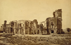 Ruins of the Residency, Lucknow.